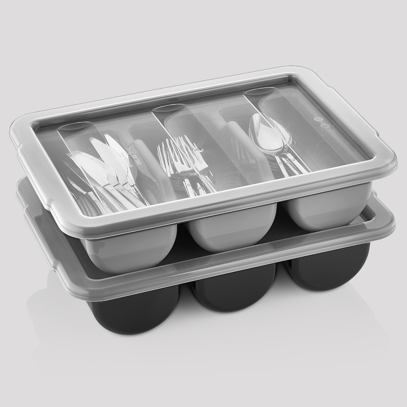 CUTLERY TRAYS AND LIDS
