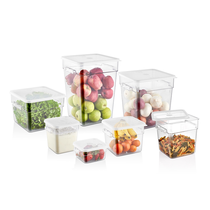 ABS SQUARE STORAGE CONTAINERS