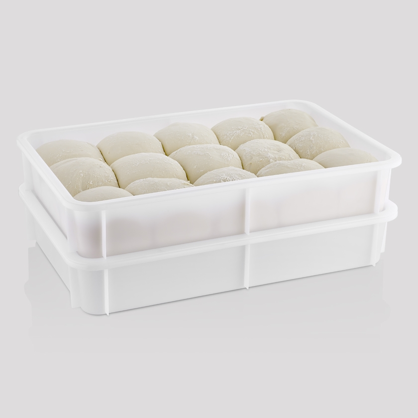 PIZZA DOUGH BOX AND LIDS